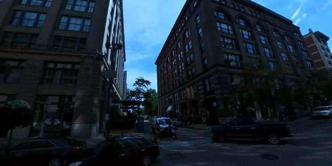 Surveillance camera on Washington Avenue in St. Louis. credit craig currie