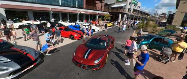 St Louis Exotic Car Show City Foundry Food Hall